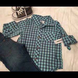 🌟NWT Button Down/Rolled Cuff Shirt